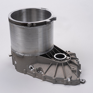 Motor Case, 356 aluminum for electric vehicle